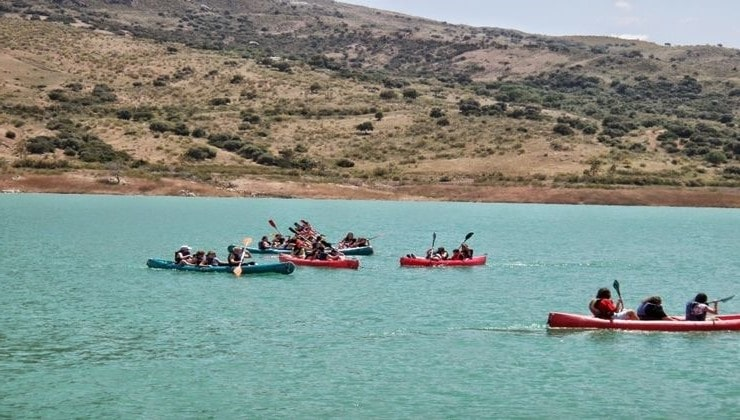 actividad-de-piraguismo,-ecoturismo-con-Aventura-Ronda