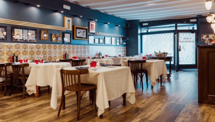 Restaurante-en-Barcelona,-Casa-Leopoldo
